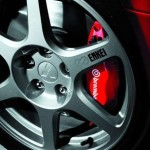 2004 Mitsubishi Lancer EVO 8 wheel Brembo brake