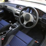 2004 Mitsubishi Lancer EVO 8 yellow interior