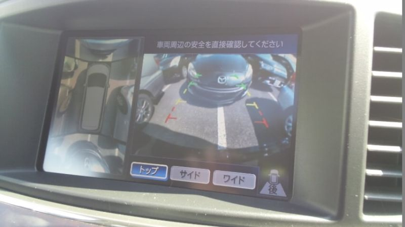 2010 Nissan Elgrand E52 4WD around view monitor