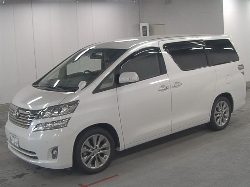 2011 Toyota Vellfire Welcab Sloper wheelchair disability vehicle 2.4V auction left front