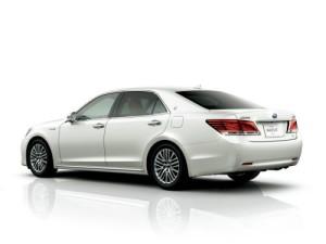 2013 Toyota Crown Majesta S21 white rear