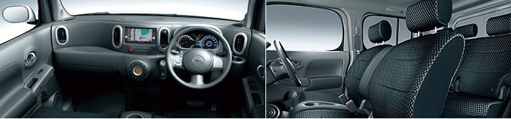 Nissan Cube Z12 AUTECH Rider Black Line interior