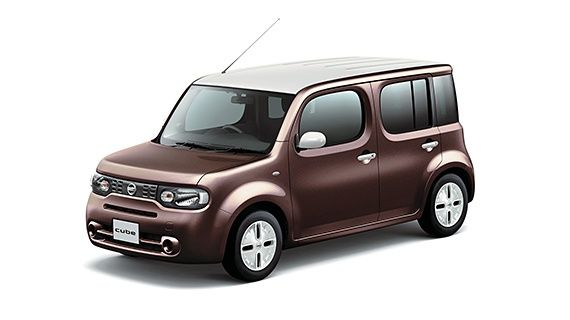 Nissan Cube Z12 brown