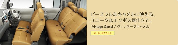Nissan Cube Z12 interior colour scheme 1