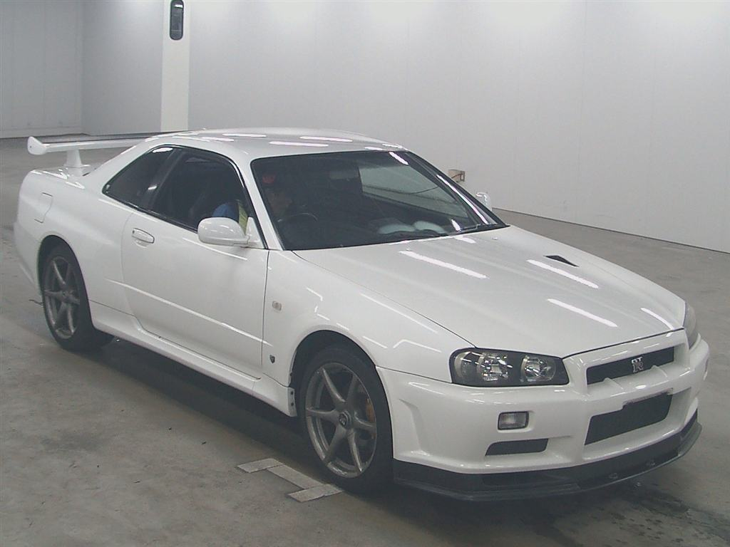 2002 Nissan Skyline R34 GTR VSpec2 NUR front right