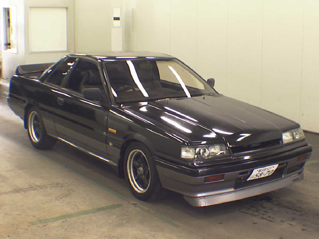 1987 NISSAN SKYLINE CP GTS-X front