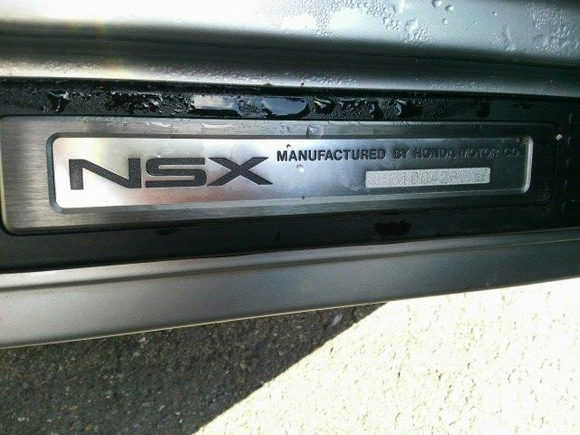 1992 Honda NSX coupe kick panel