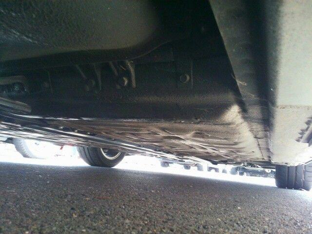 1992 Honda NSX coupe underbody 2