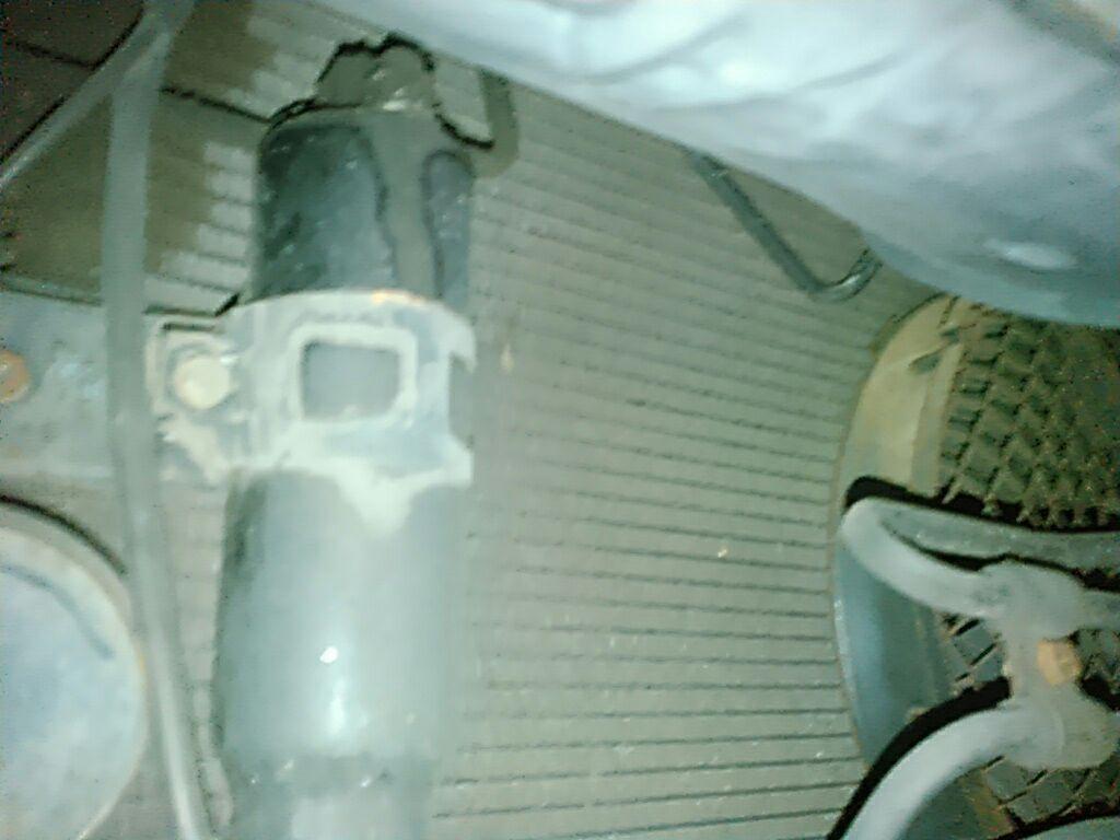 1994 Toyota Supra GZ twin turbo rad support 11
