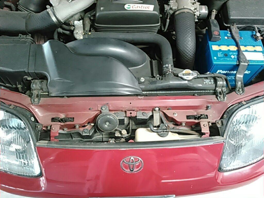 1994 Toyota Supra GZ twin turbo rad support 6