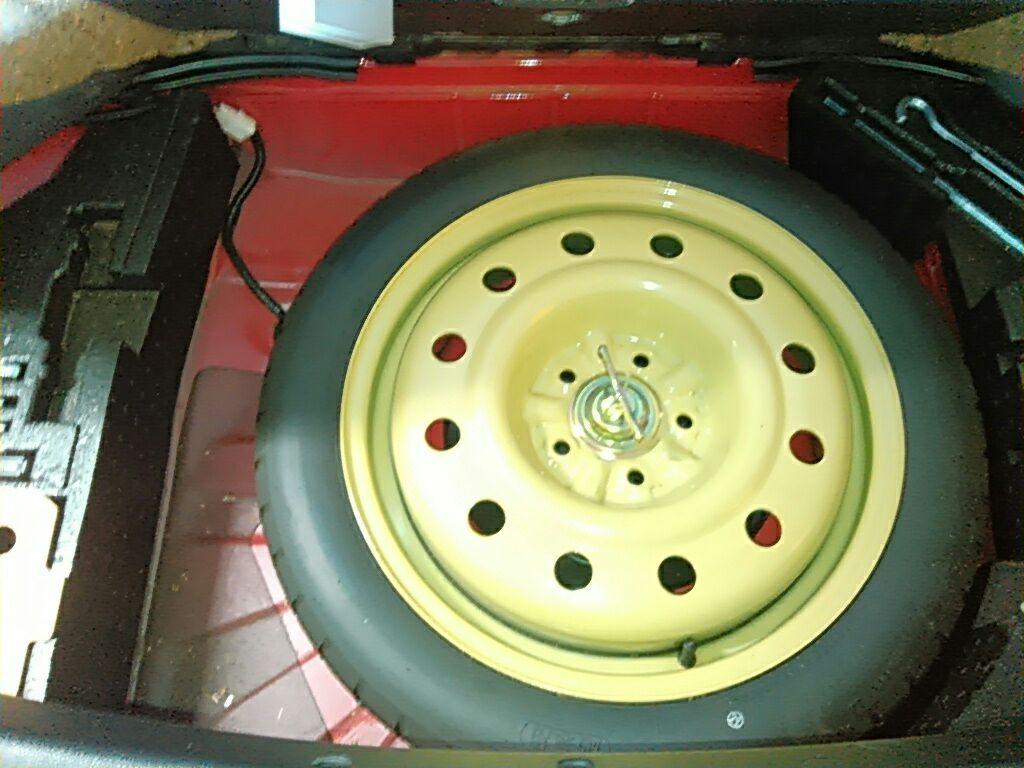 1994 Toyota Supra GZ twin turbo spare tyre 2