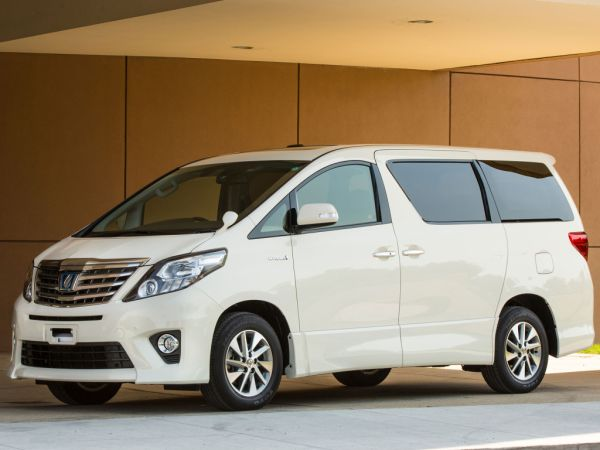 Toyota Alphard Hybrid G Premium Seat Package