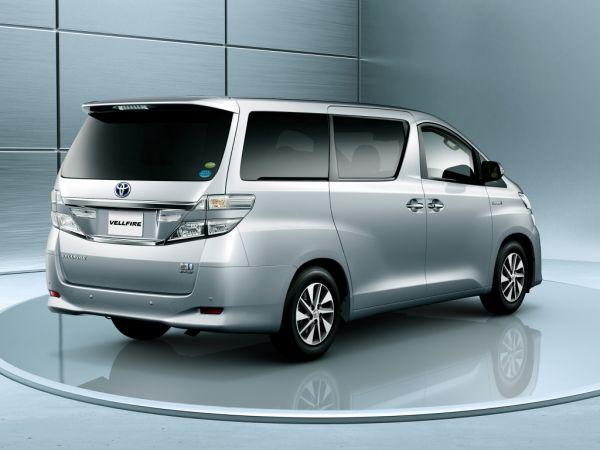 Toyota Vellfire Hybrid V L Edition 4WD (ATH20W) front
