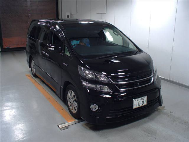 2012 Toyota Vellfire Hybrid ZR auction front