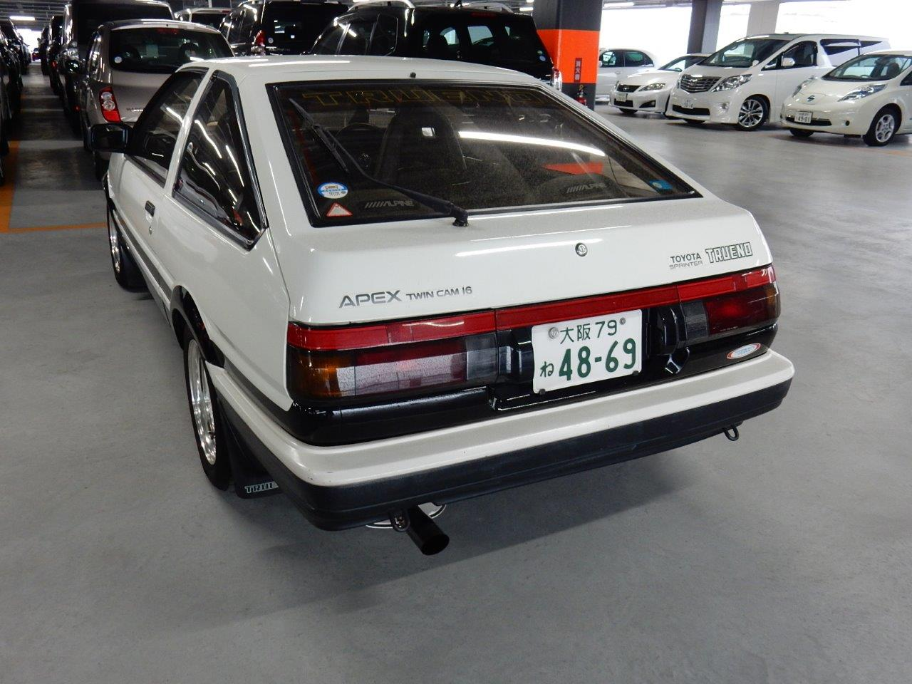1987 toyota sprinter gt apex ae86 prestige motorsport. Black Bedroom Furniture Sets. Home Design Ideas