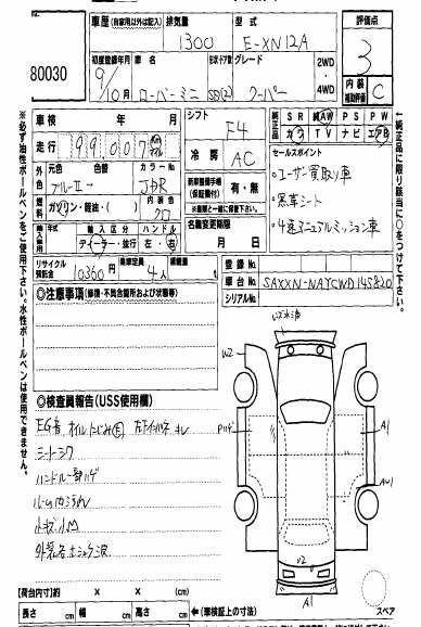 1997-rover-mini-cooper-auction-sheet