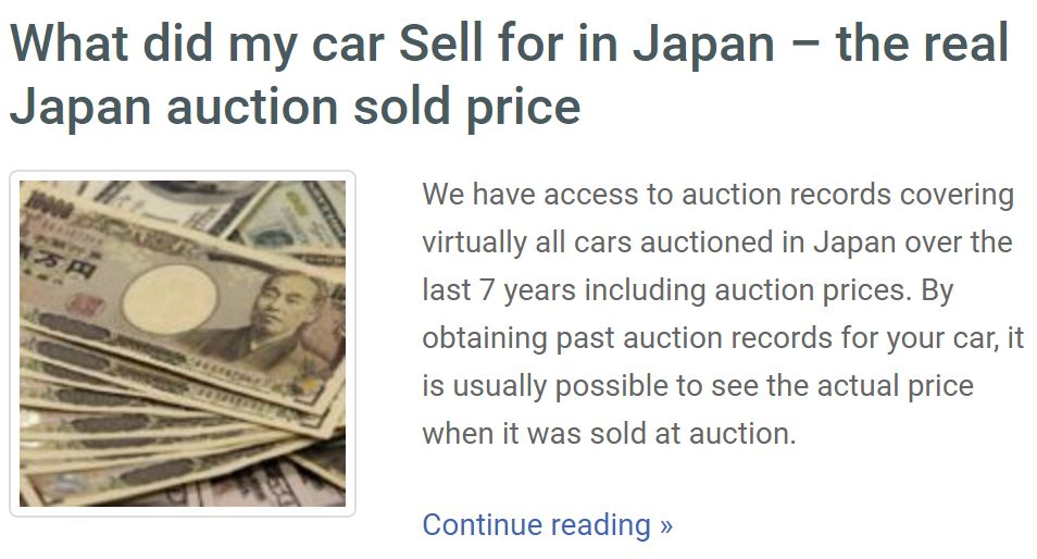 sale-price japan car history