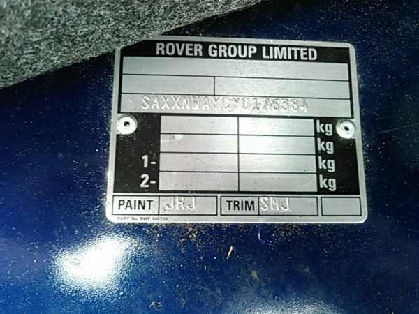 1999-rover-mini-cooper-mayfair-build-plate