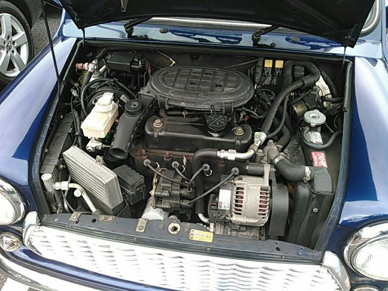 1999-rover-mini-cooper-mayfair-engine-bay