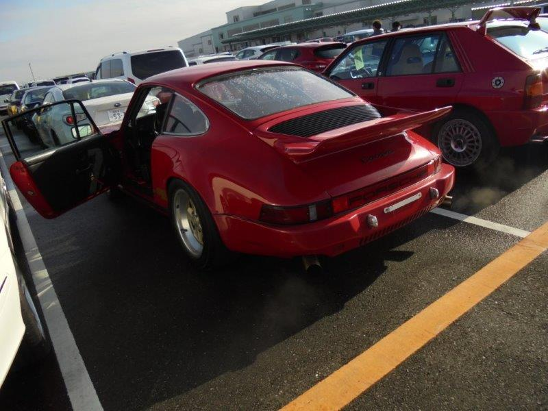 1981 Porsche 911 coupe rear