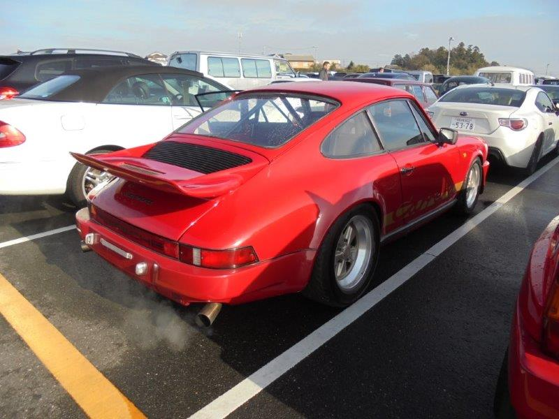 1981 Porsche 911 coupe right rear
