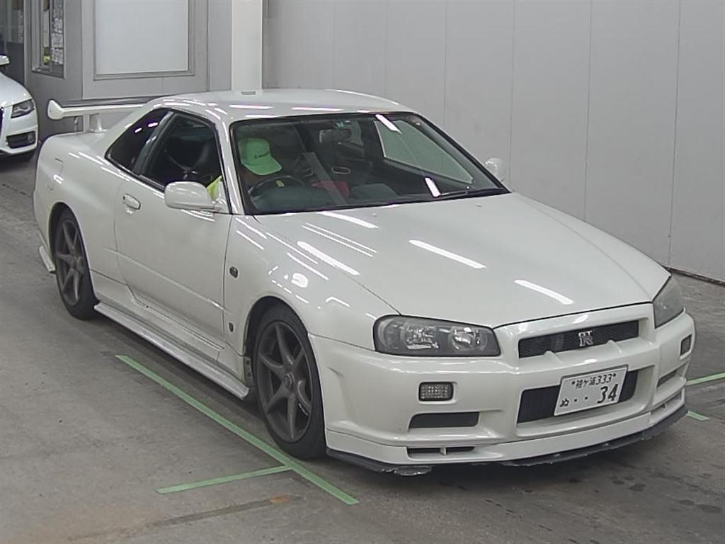 2002 NISSAN SKYLINE R34 GTR front