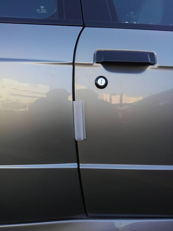 1987 BMW M3 E30 coupe door protector