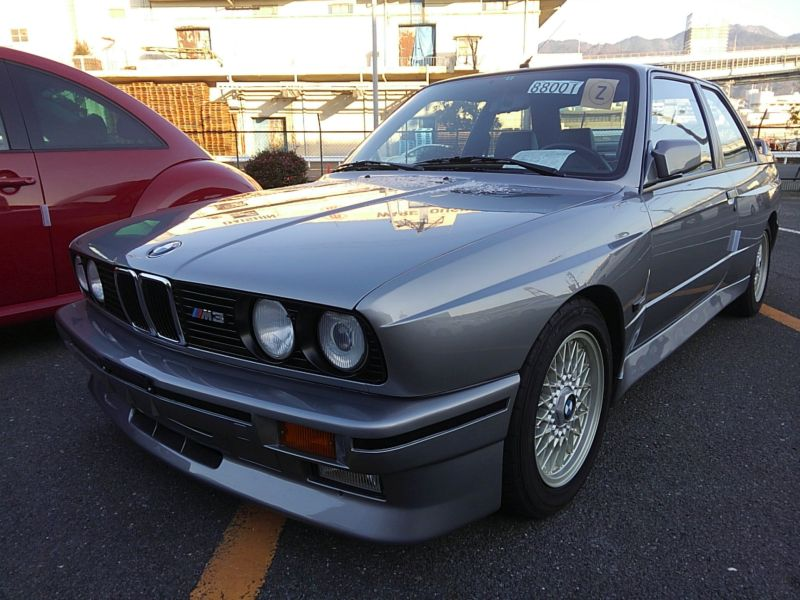 1987 BMW M3 E30 coupe left front low