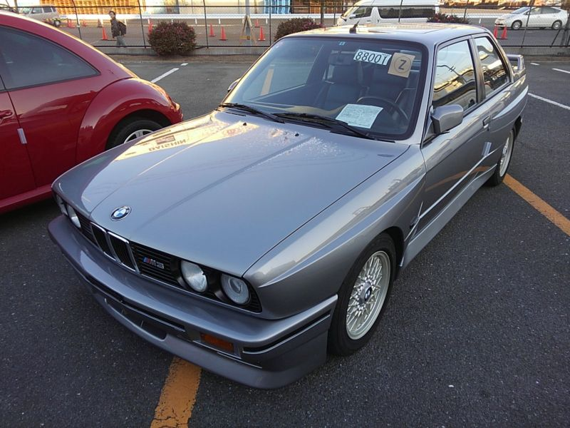 1987 BMW M3 E30 coupe left front