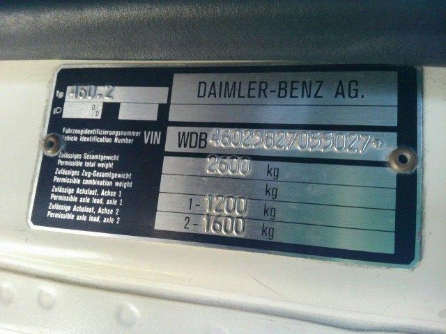 1987 Mercedes Benz 4WD 230GE Gelandewagen 47