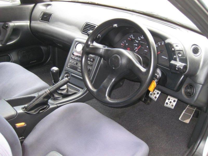 1993 R32 GTR silver interior