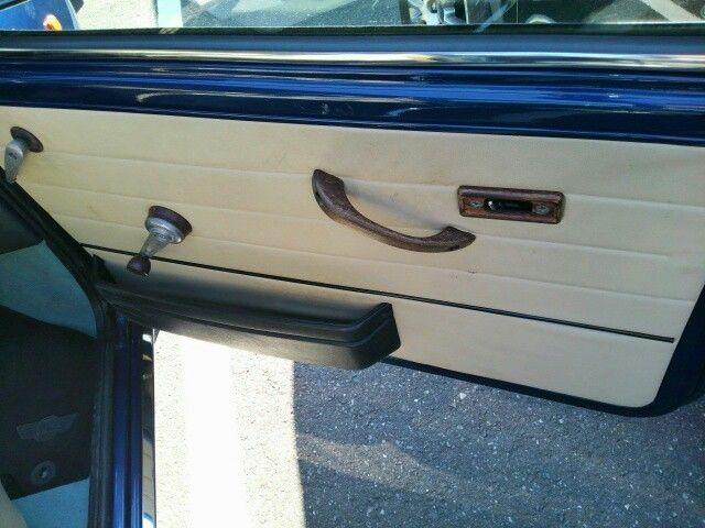 1999 Rover Mini Cooper drivers door card