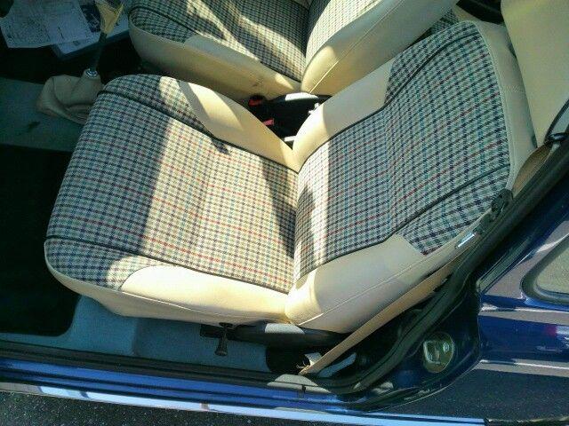 1999 Rover Mini Cooper passenger seat