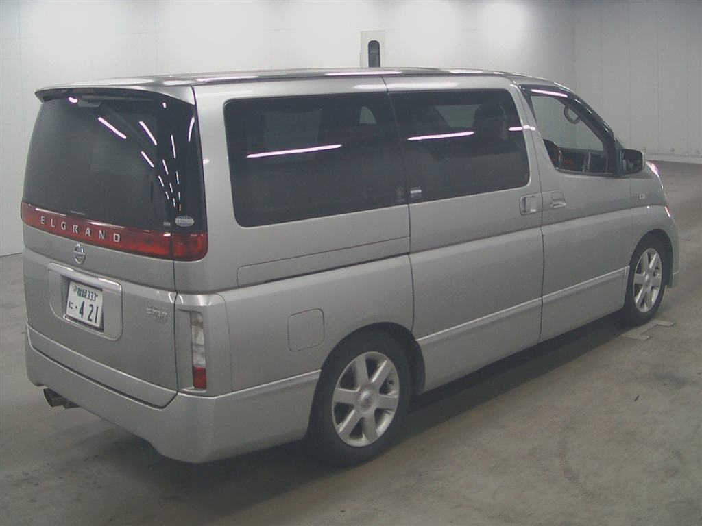 2003 Nissan Elgrand E51 Highway Star 2WD auction 5
