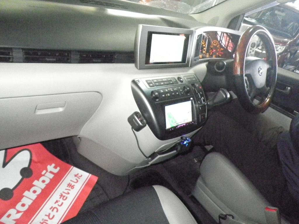 2003 Nissan Elgrand E51 Highway Star 2WD auction interior