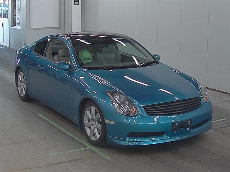 2004 Nissan Skyline V35 350GT Premium coupe auction front