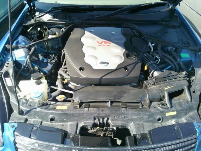 2004 Nissan Skyline V35 350GT Premium coupe engine