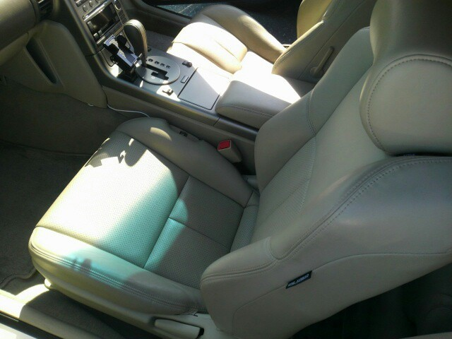 2004 Nissan Skyline V35 350GT Premium coupe interior 2