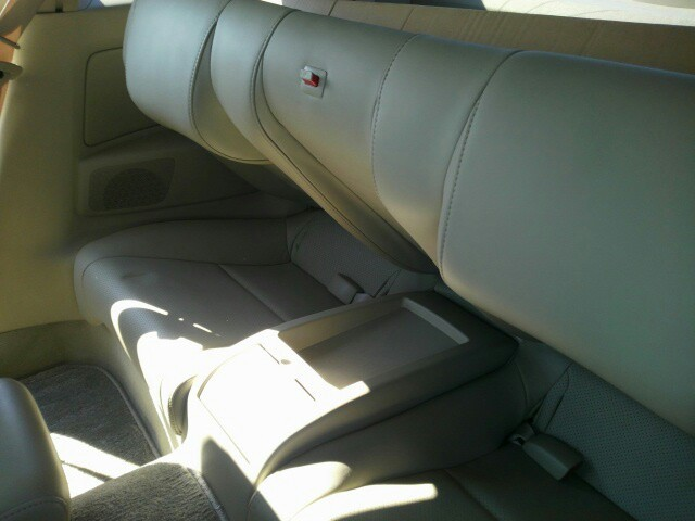 2004 Nissan Skyline V35 350GT Premium coupe rear seat