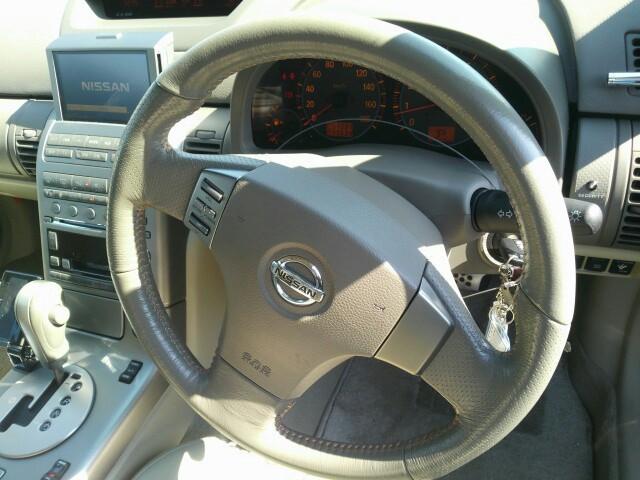 2004 Nissan Skyline V35 350GT Premium coupe steering wheel