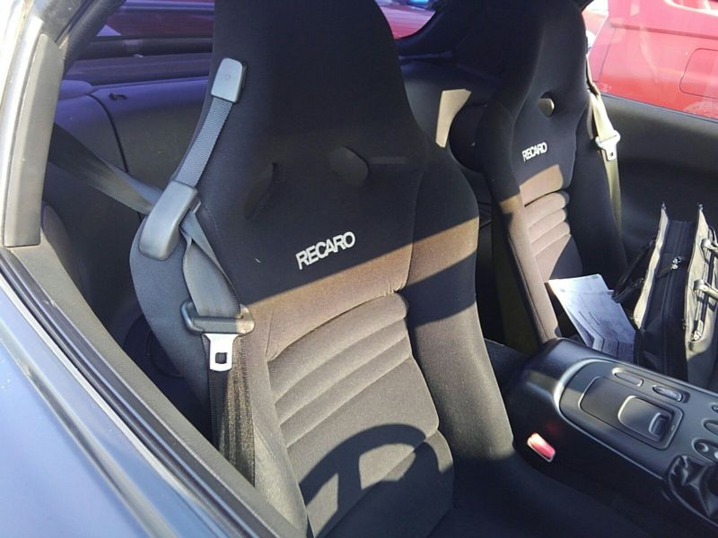 1992 Mazda RX-7 Type RZ lightweight sports model driver seat