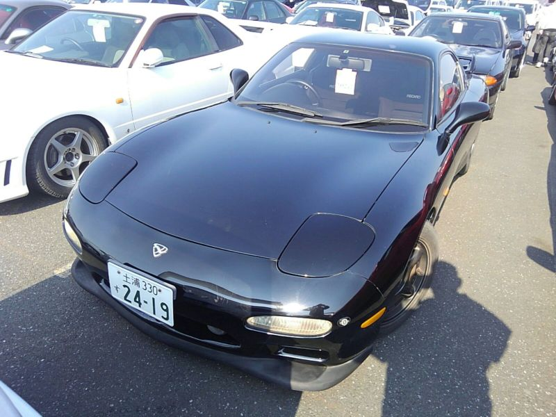1992 Mazda RX-7 Prices Type RZ lightweight sports model left front