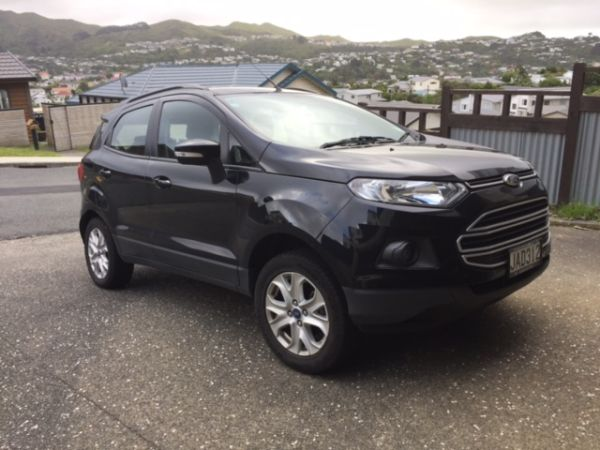 Personal import valuation for 2015 Ford EcoSport front
