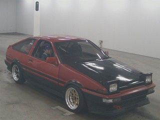 1985 Toyota Sprinter GT APEX AE86 auction front