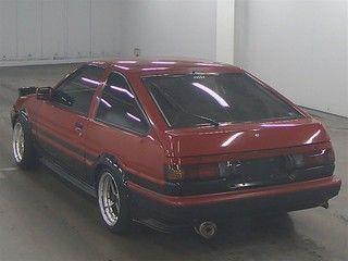 1985 Toyota Sprinter GT APEX AE86 auction rear