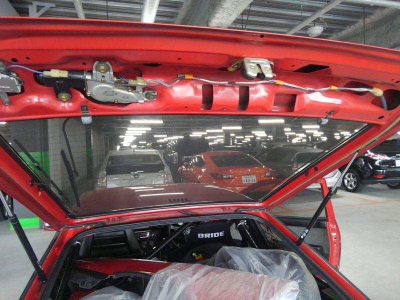 1985 Toyota Sprinter GT APEX AE86 engine 5