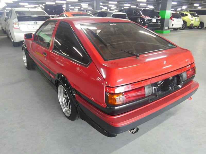 1985 Toyota Sprinter GT APEX AE86 left rear
