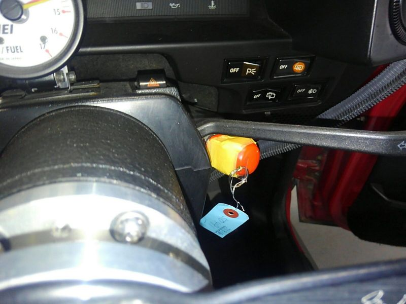 1985 Toyota Sprinter GT APEX AE86 steering wheel
