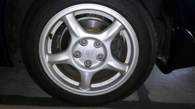 1992 Mazda RX-7 Type R wheel 1
