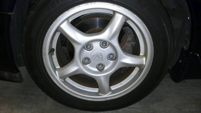 1992 Mazda RX-7 Type R wheel 2